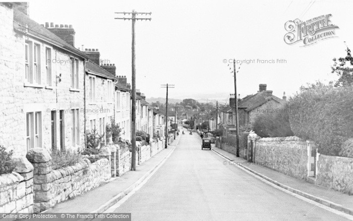 Photo of Worle, Coronation Road c.1955