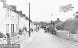 Worle, Coronation Road c.1955