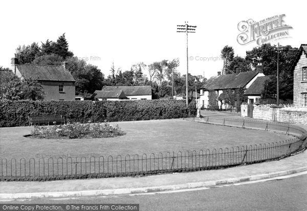 Photo of Worle, Ebdon Road c.1955
