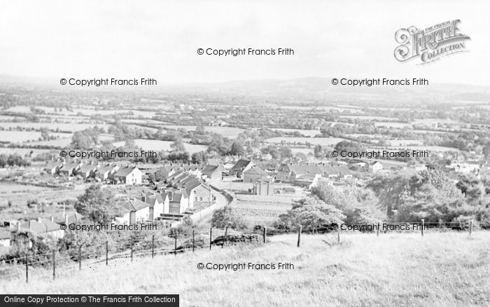 Photo of Worle, General View c.1955
