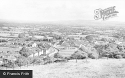 Worle, General View c.1955