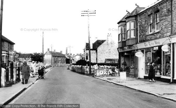 Photo of Worle, High Street 1954