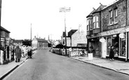 Worle, High Street 1954