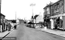 Worle, High Street 1954