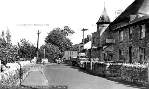 Photo of Worle, High Street c.1955