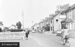 Worle, High Street c.1955