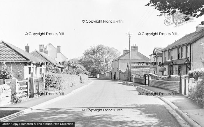 Photo of Worle, Preanes Green c.1955