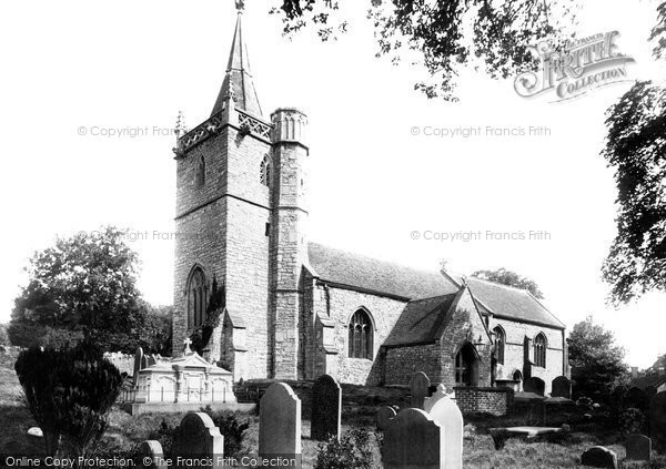 Photo of Worle, St Martin's Church 1896