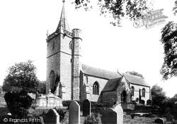Worle, St Martin's Church 1896