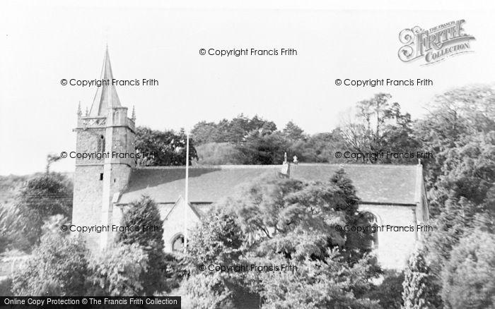 Photo of Worle, St Martin's Church c.1955