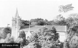 Worle, St Martin's Church c.1955