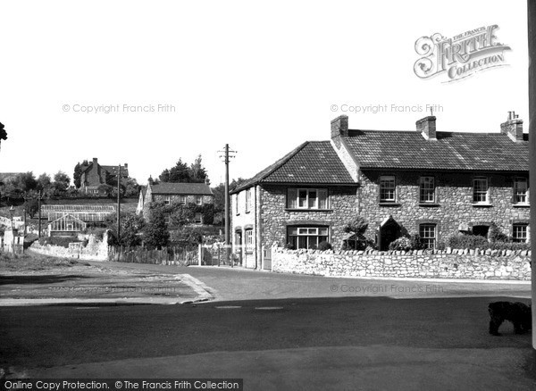 Photo of Worle, The Scaurs c.1955