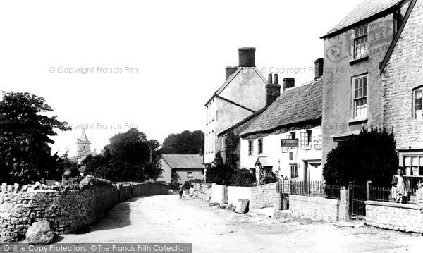 Photo of Worle, The Village 1896