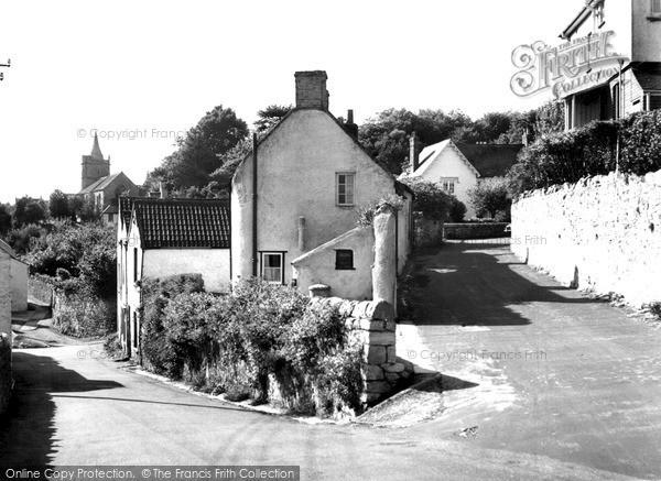 Photo of Worle, The Village c.1955