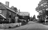 Wormelow, the Post Office and Village c1960