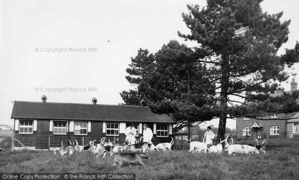 Photo of Wormelow, The South Hereford Fox Hounds c.1960