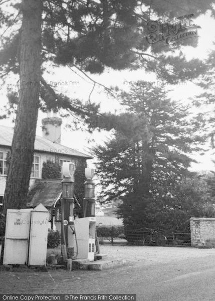 Photo of Wormelow, The Tump And Petrol Pumps c.1960