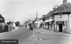 Wormley, High Road c.1955