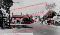 High Road c.1960, Wormley
