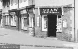 Wormley, Shaw's Newsagent, High Road c.1955