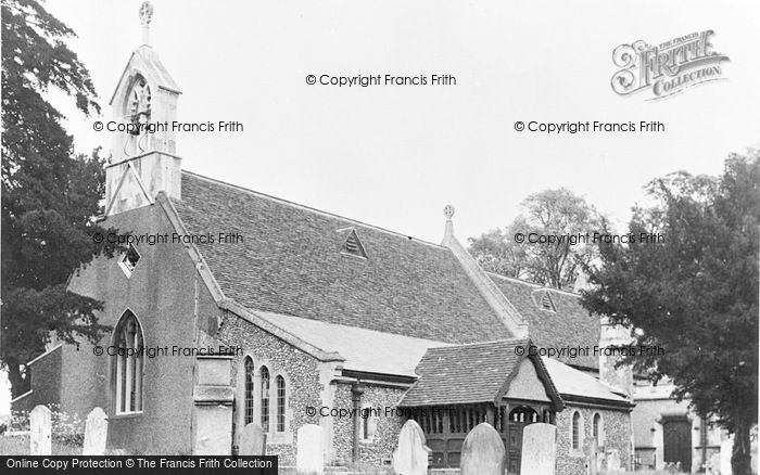 Photo of Wormley, St Lawrence's Church c.1955