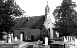 Wormley, St Lawrence's Church c.1955