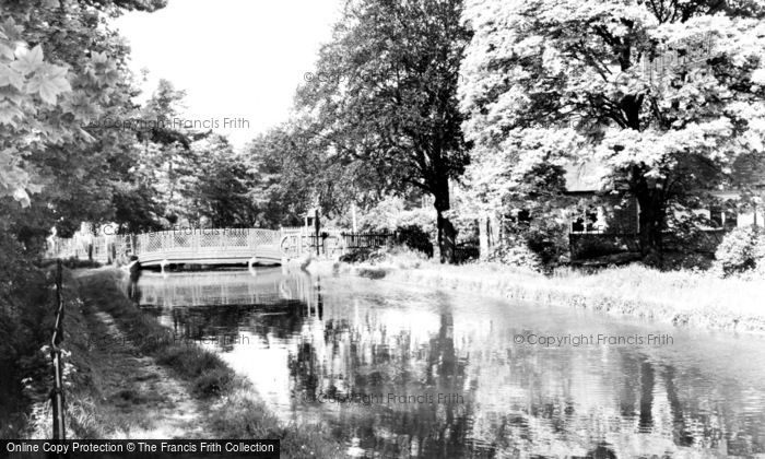 Photo of Wormley, The River Lea c.1960