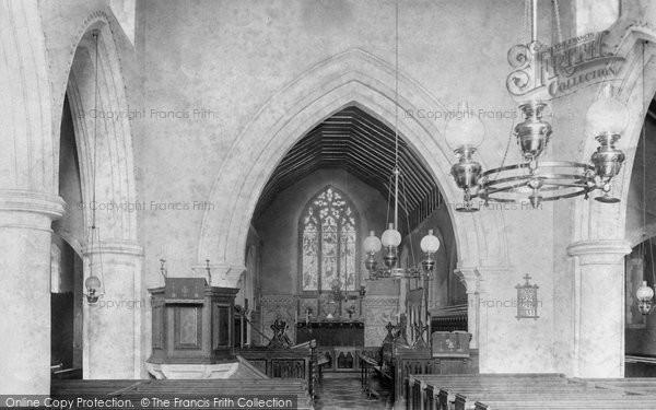 Photo of Worplesdon, Church Interior 1904