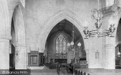 Church Interior 1904, Worplesdon