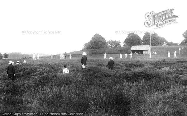 Photo of Worplesdon, Cricket Ground 1904