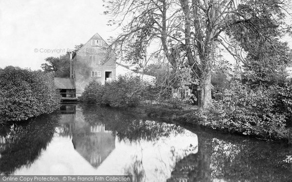 Photo of Worplesdon, Rickford Mill 1908