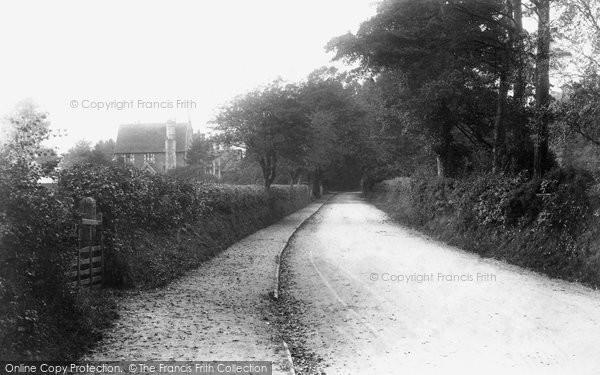 Photo of Worplesdon, School Hill 1908