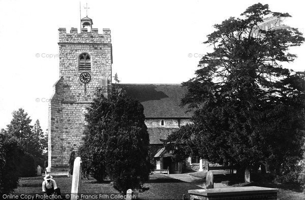 Photo of Worplesdon, St Mary's Church 1904