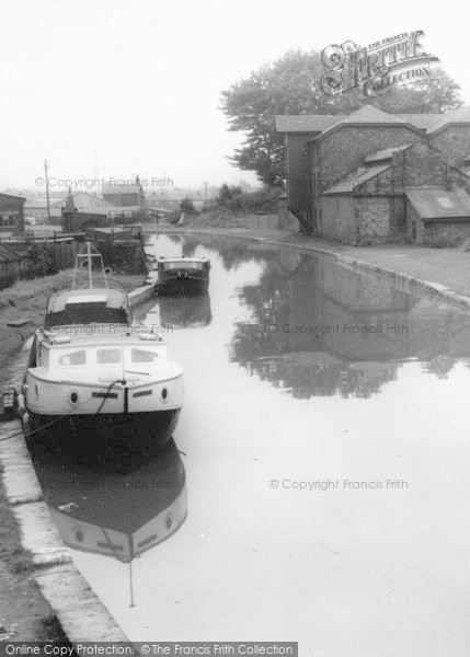 Photo of Worsley, Boats, The Canal c.1960