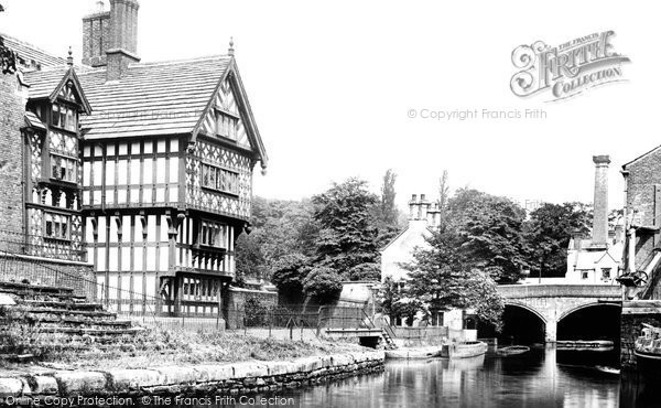 Photo of Worsley, Bridgewater Canal, The Packet House 1889