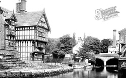 Worsley, Bridgewater Canal, The Packet House 1889