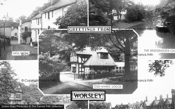Photo of Worsley, Composite c.1955