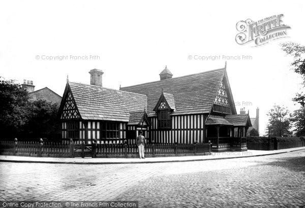 Photo of Worsley, Court House 1889