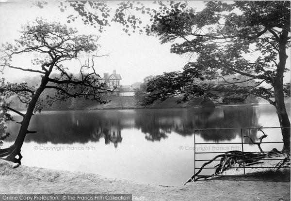 Photo of Worsley, Dam 1897