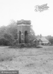 Worsley, Memorial Fountain, The Green c.1960