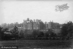 Worsley, New Hall 1896