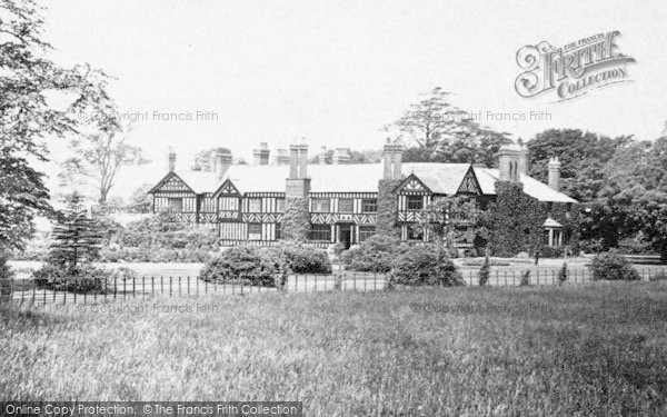 Photo of Worsley, Old Hall 1889