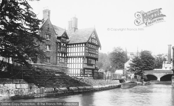Photo of Worsley, On The Canal 1896