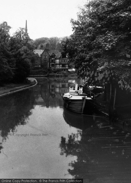 Photo of Worsley, Packet House And Bridgewater Canal c.1960
