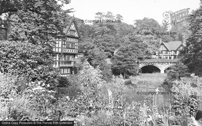 Photo of Worsley, Packet House And Cafe c.1950