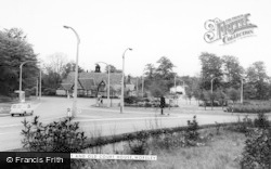 Worsley, Roundabout And Old Court House c.1965