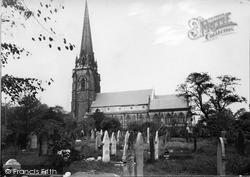 Worsley, St Mark's Church c.1955