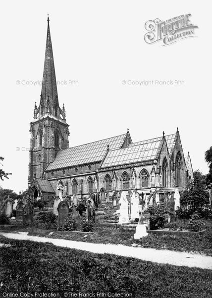Photo of Worsley, St Mark's Church From The South East 1889