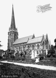 Worsley, St Mark's Church From The South East 1889