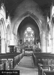 Worsley, St Mark's Church Interior 1889